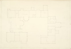 Plan of Little Moreton Hall